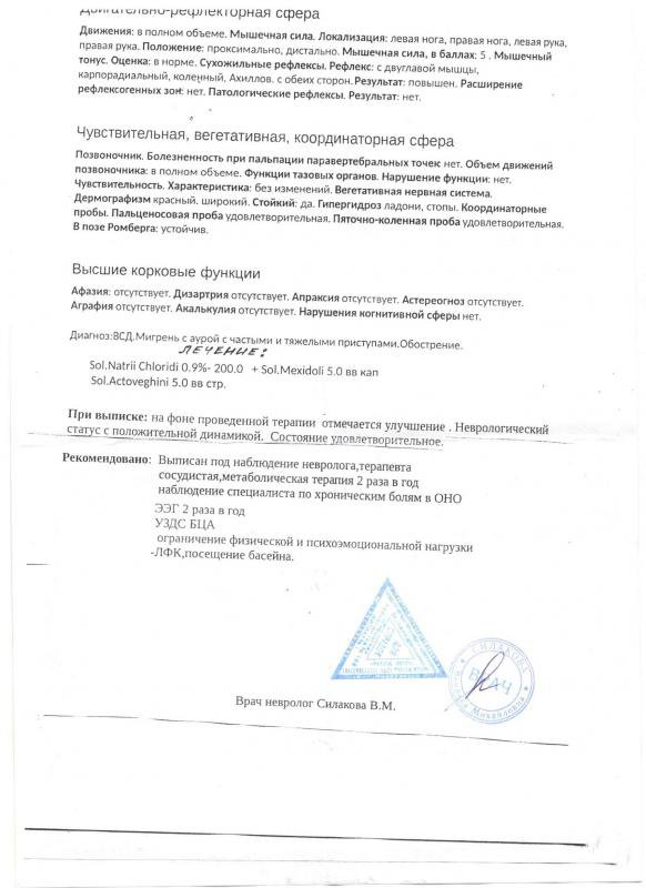 Мигрень - Медицинский форум для призывников - Военная Коллегия ...